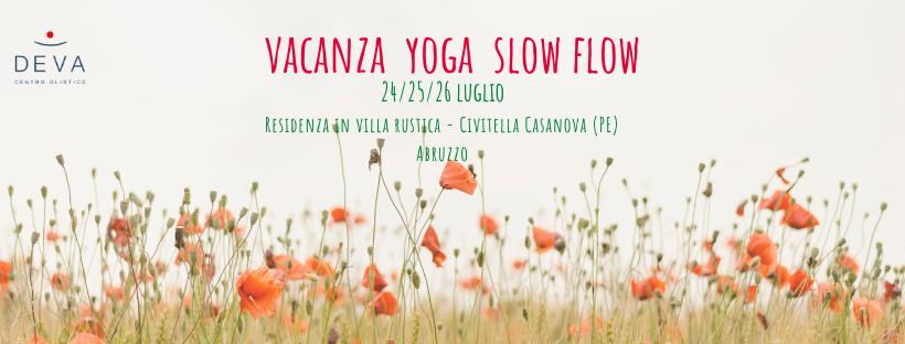 Vacanza yoga slow flow